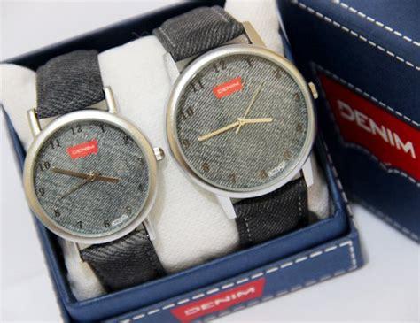 Jam Tangan Ada 3 Warna 1 jam tangan pria wanita denim ada 4 pilihan warna