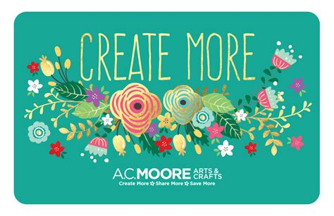 But Gift Cards - a c moore gift card