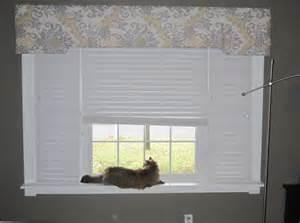 Fabric Covered Window Cornice Keriing On Fabric Covered Window Cornice