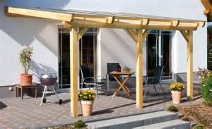 fertig wintergarten aufbau einer leimholz terrassen 252 berdachung