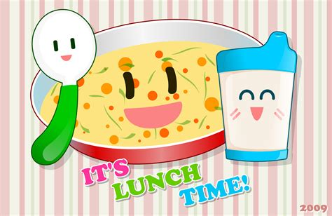 what time is lunch its lunch time by dangele on deviantart