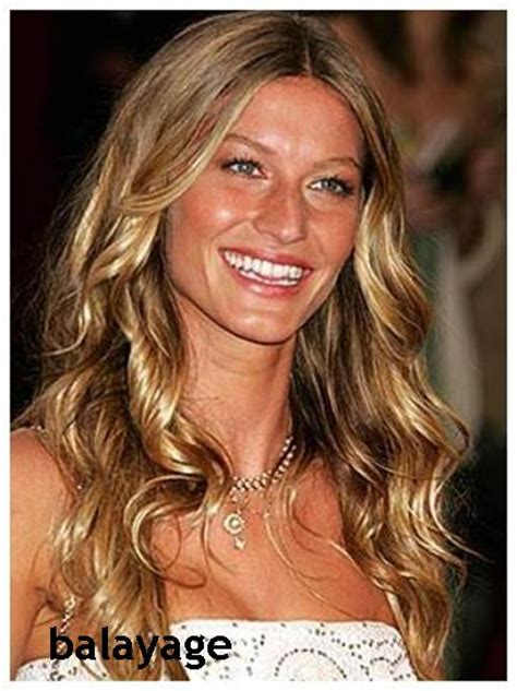 gisele bundchen balayage hair which service should you get balayage or foils