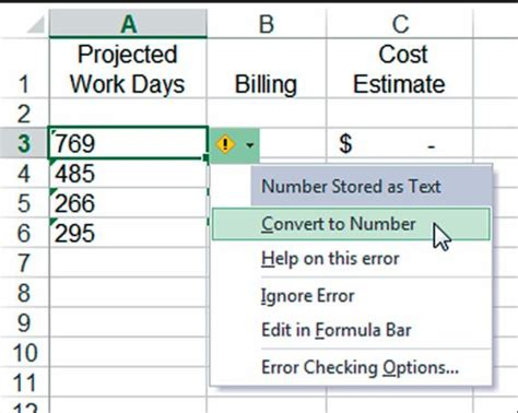 Converter Numbers To Excel | pryor learning solutions