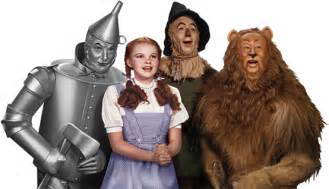 The wizard of oz and all related characters and elements