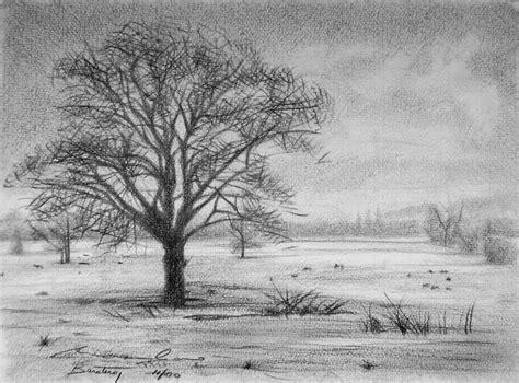 Imagenes De Paisajes Dibujados A Lapiz   paisaje a lapiz dibujos pinterest art drawings