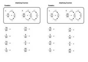 simplifying fractions by deechadwick teaching resources