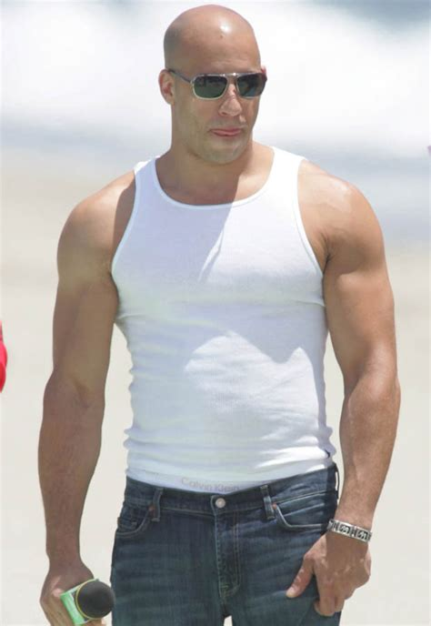 best vin diesel vin diesel has been spotted without the rock and and