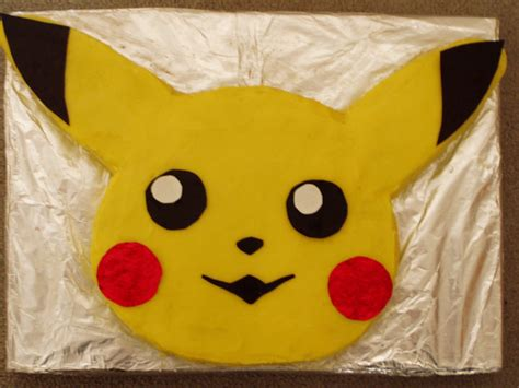 Pikachu Cake Template pikachu cake the birthday cake i made for my s