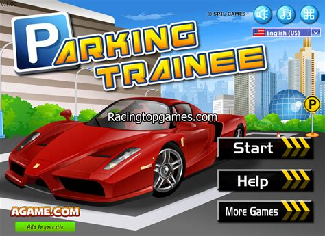 Cari Gamis play parking trainee car free at racingtopgames this is a car parking with
