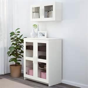 Charmant Ikea Petit Meuble Rangement #6: BRIMNES%20meuble%20vitrine%20blanc%20IKEA__brimnes-rangement-blanc-salon-salle-a-manger-ikea.jpg