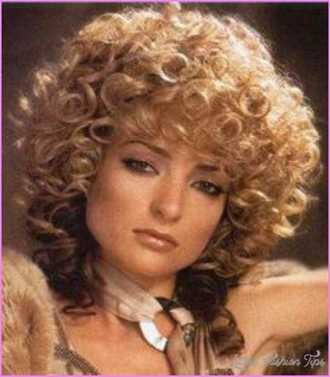 haircut short and permed in 80s salon curly 70 s hairstyles latestfashiontips com