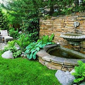 Backyard Water Ideas The Best Backyard Water Fountains