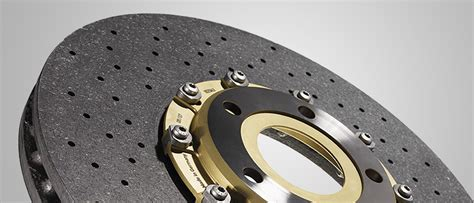 carbon ceramic brake it the brakes used in a formula 1 car being tested