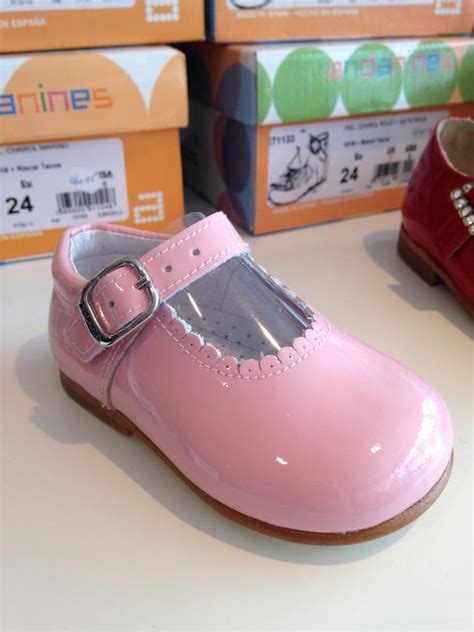 andanines pink patent shoes