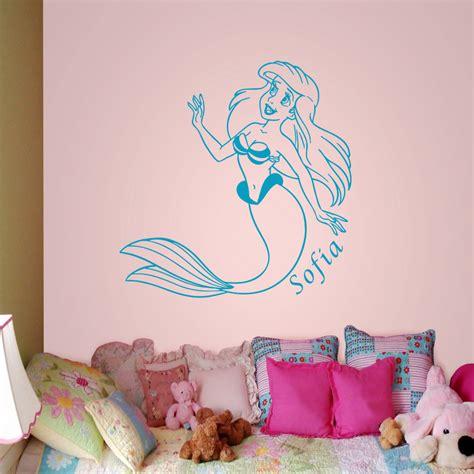 Little Mermaid Wall Stickers my little mermaid wall decal art sticker wall stickers