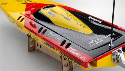 rc boat hardware package exceed racing electric powered fiberglass shark 650ep boat kit