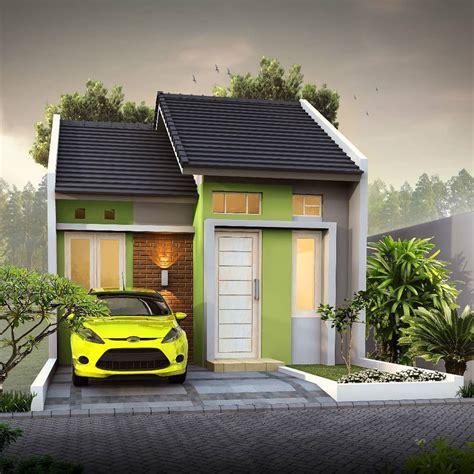 kumpulan desain rumah minimalis modern  lahan sempit