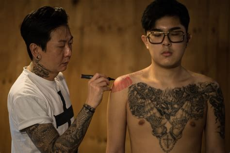 tattoo culture korea meet south korea s outlaw tattoo artists lifestyle from