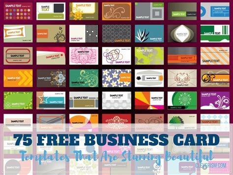 free business card template print out 75 free business card templates that are stunning beautiful