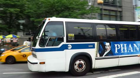 ferry bound video nyc bus south ferry bound rts 06 5206 m20 at columbus