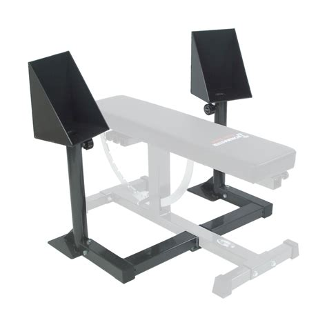 bench with spotter spotting stand ironmaster uk