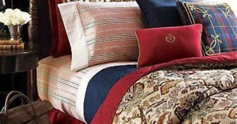 chaps bedding outlet i have that plaid pillow chaps by ralph lauren