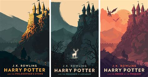 pictures of harry potter book covers magical vintage harry potter book covers by olly moss