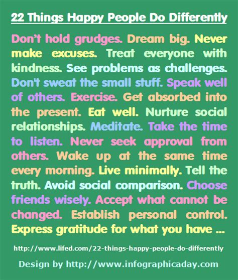 8 things people would do differently if building their house again twelve things happy people do differently quotes
