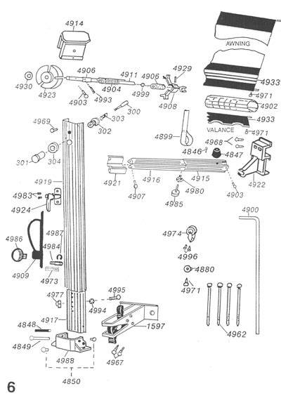 a e awning parts diagram dometic rv awning parts diagram dometic awning motor