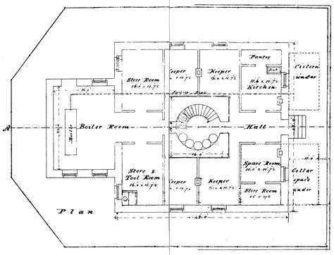 lighthouse floor plans builders were to find for tillamook rock lighthouse