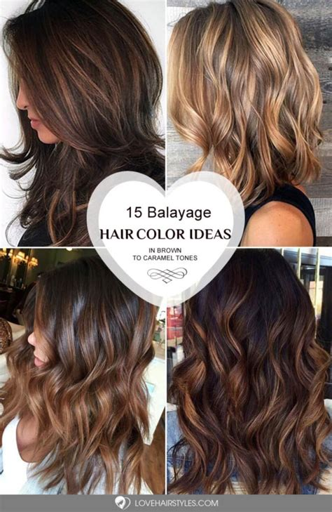 brunette color personalities on pinterest 175 pins 35 balayage hair ideas in brown to caramel tone balayage