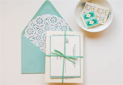 diy stationery diy quot blue box quot inspired rubber st wedding invitations