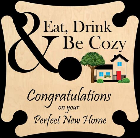 congratulations on your new home original wine caddy