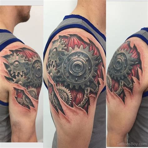 biomechanical shoulder tattoo designs biomechanical tattoos designs pictures