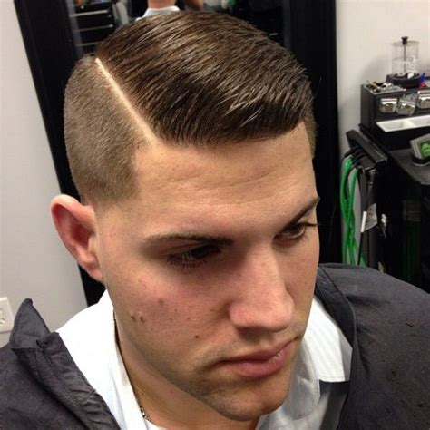 military haircut side part men pinterest the world s catalog of ideas