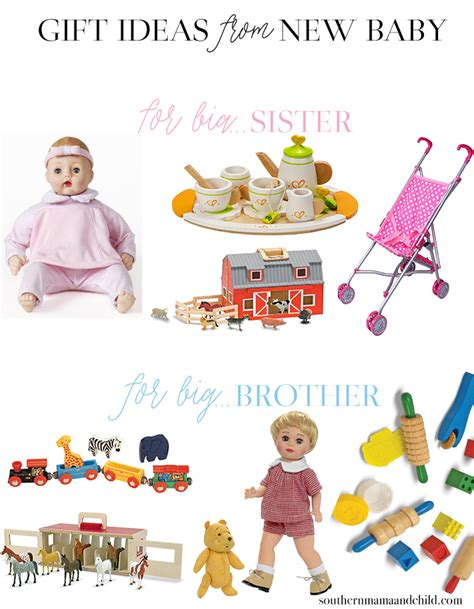 gift ideas from baby to big gift ideas from new baby to big or