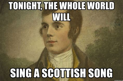 Spongebob Patrick Meme Generator - tonight the whole world will sing a scottish song