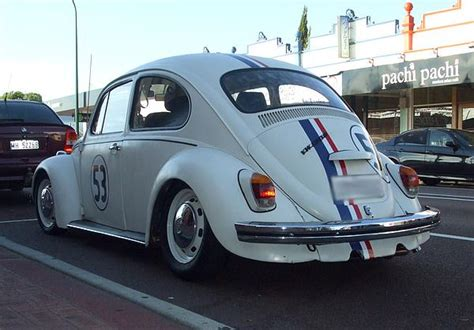 vw beetle  number  herbie replica