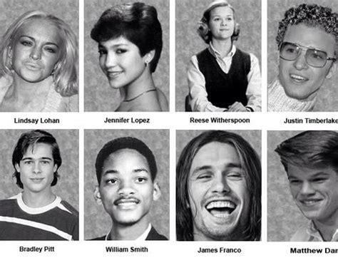 celebrity high school yearbook pics actors when they were in high school celebrities