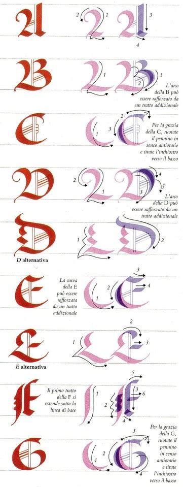 lettere gotiche decorate calligrafie asdps armis et leo