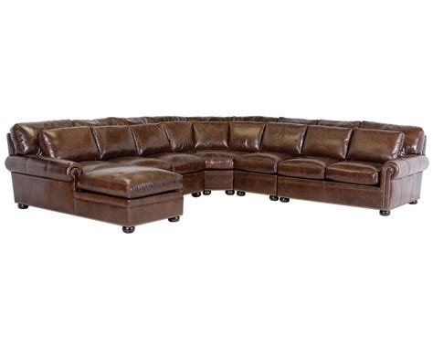classic leather sectional classic leather tamarack sectional 2514 leather