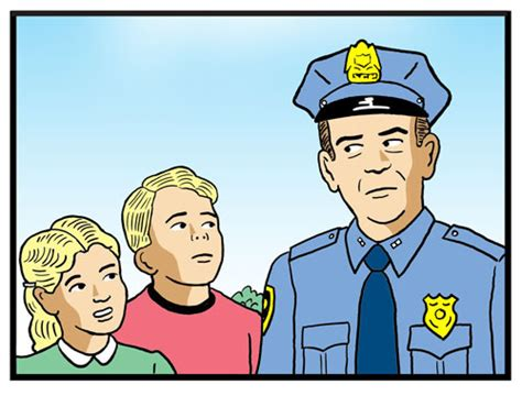 Officer Friendly by Midday Open Thread
