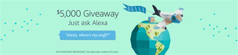 Prime Giveaway - amazon com alexa voice shopping where s my stuff