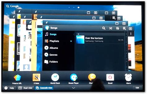 Samsung Multi Window samsung adds multi window support to android similar to windows and mac s megaleecher net