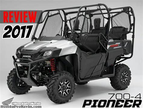honda new utv new 2017 honda pioneer 700 500 review of model changes