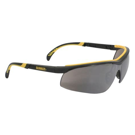 most comfortable safety glasses dewalt dpg55 6 dc safety glasses black frame silver