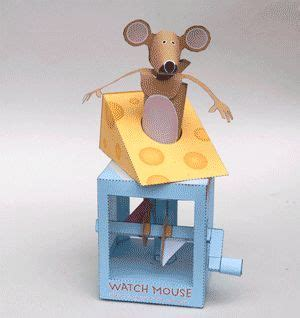 Moving Papercraft - 17 best images about automata on age 3 toys