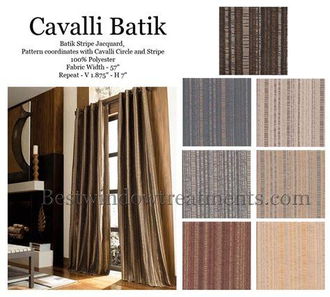 Cavali Batik cavalli batik curtain drapery panels www