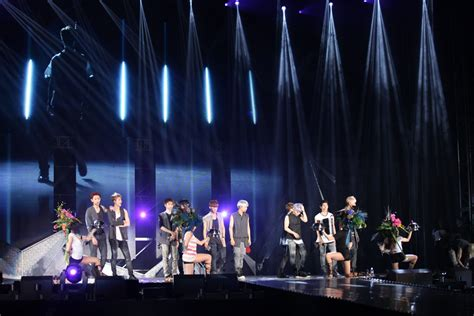 exo upcoming concerts exo shows hard work and tears for first night of first
