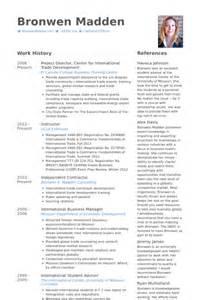 project director resume sles visualcv resume sles
